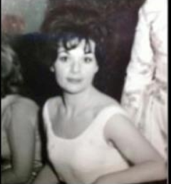 My Mother - Ana from Havana - at her wedding reception - 1962.