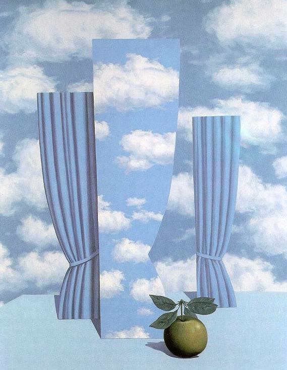 """Rene Magritte, """"Le Beau Monde"""""""