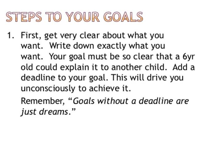 goalsetting