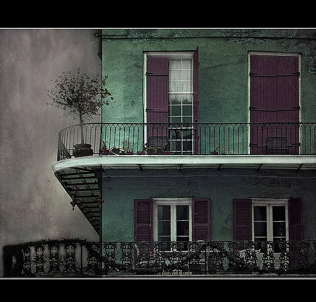 New Orleans. Balcony.