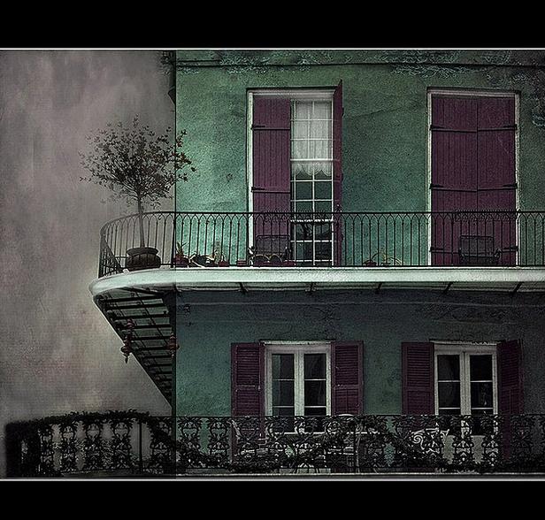 New Orleans. Balcony.